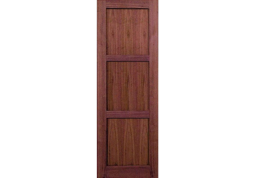 Oxford 96 Walnut 3 Panel Shaker Interior Door 1 3 4 Shaker Interior Doors Doors Interior Panel Doors