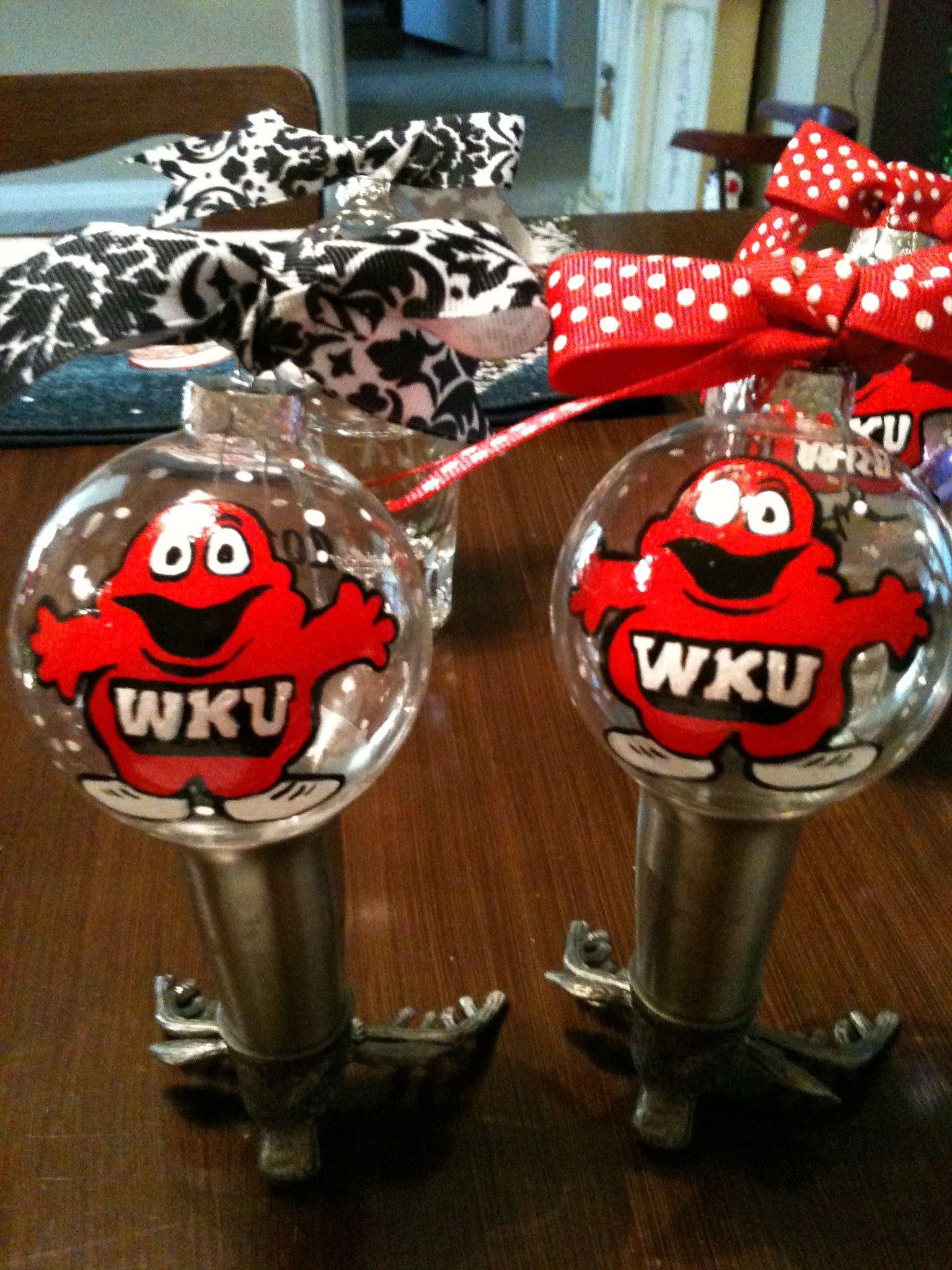 Wku Ornaments