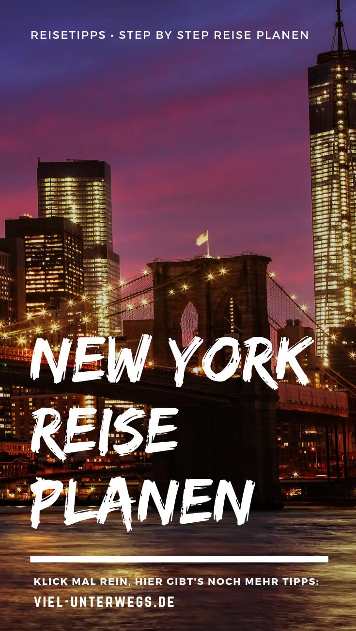 Kein Streß! Tipps zur entspannten New York Reiseplanung!