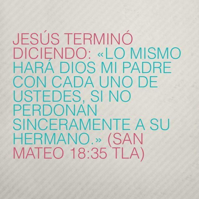 (San Mateo 18:35 TLA)