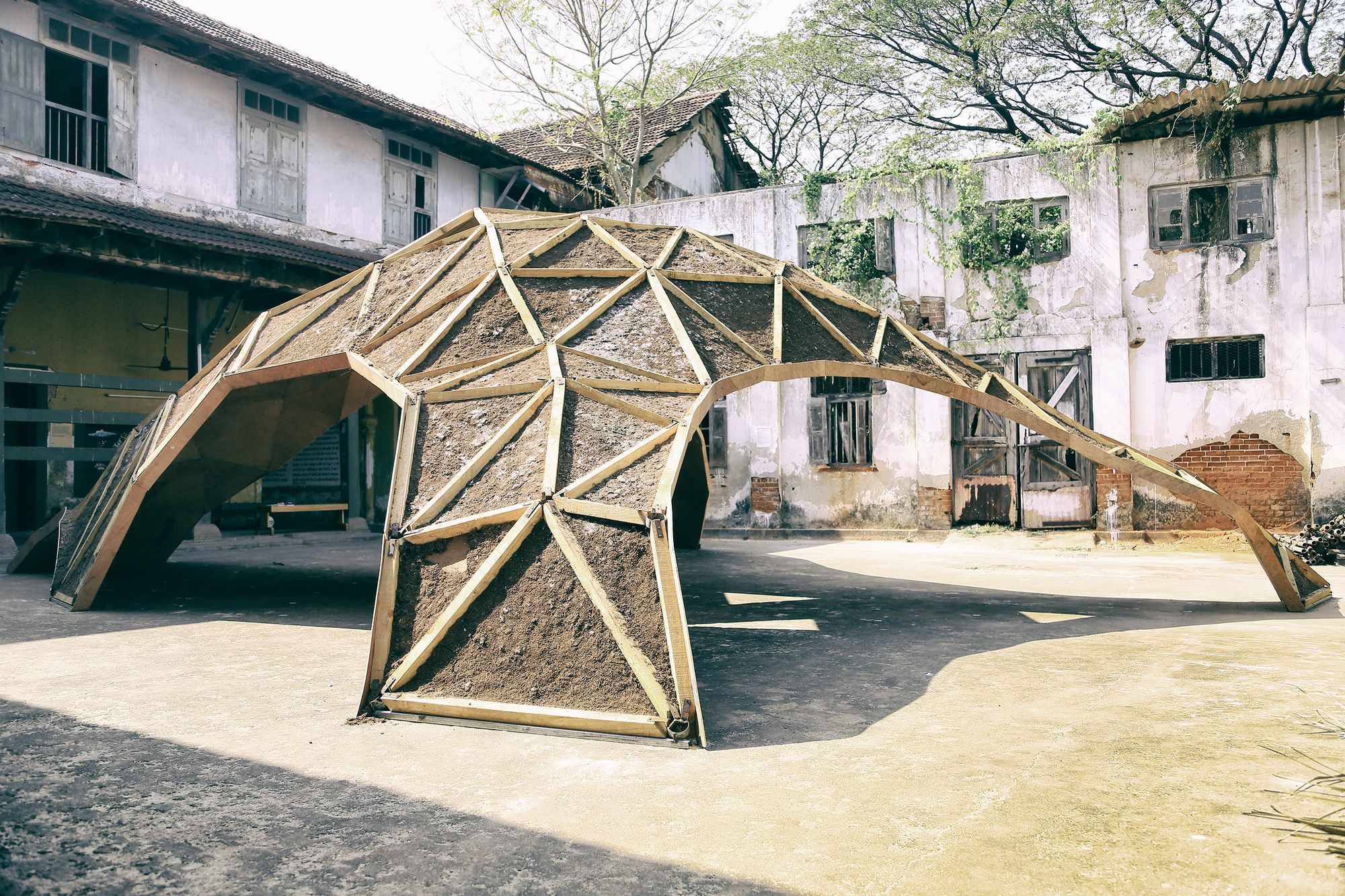 This Pavillion Lives and Dies Through Its Sustainable