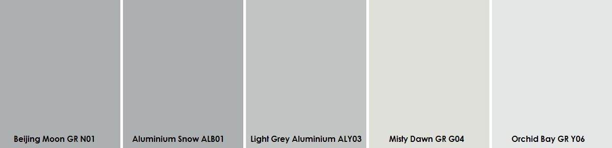 Plascon light greys paint sample curating your walls for Light gray color swatch
