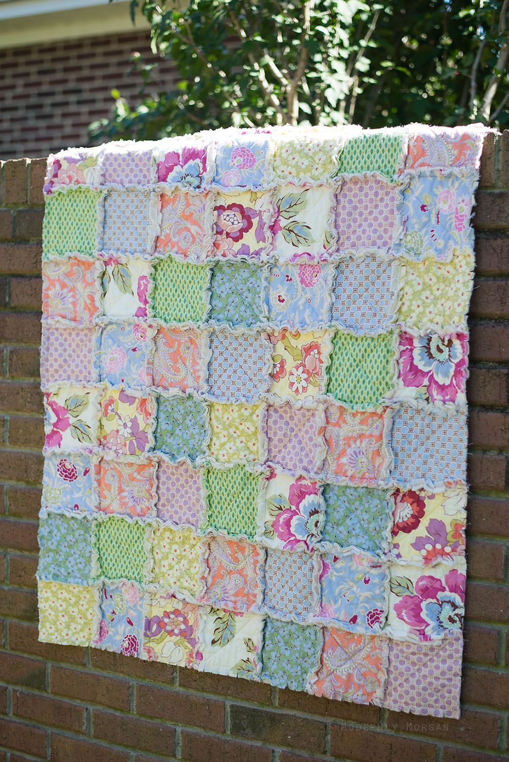 quick quilt a quilts rosebuds and doodlebugs img baby