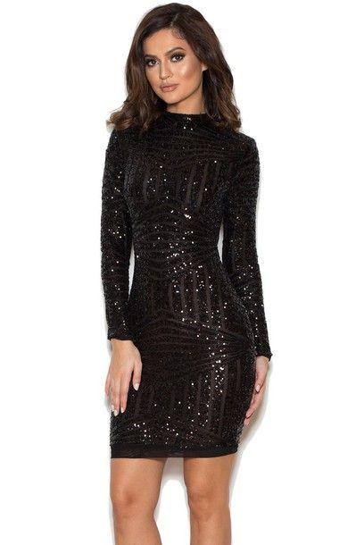 17+ Sequin black dress information