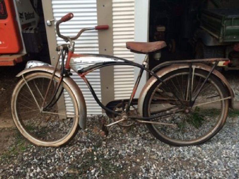 9779c051cd6 1952 Original and Unrestored Schwinn Phantom Men's 26 B…   Motor ...