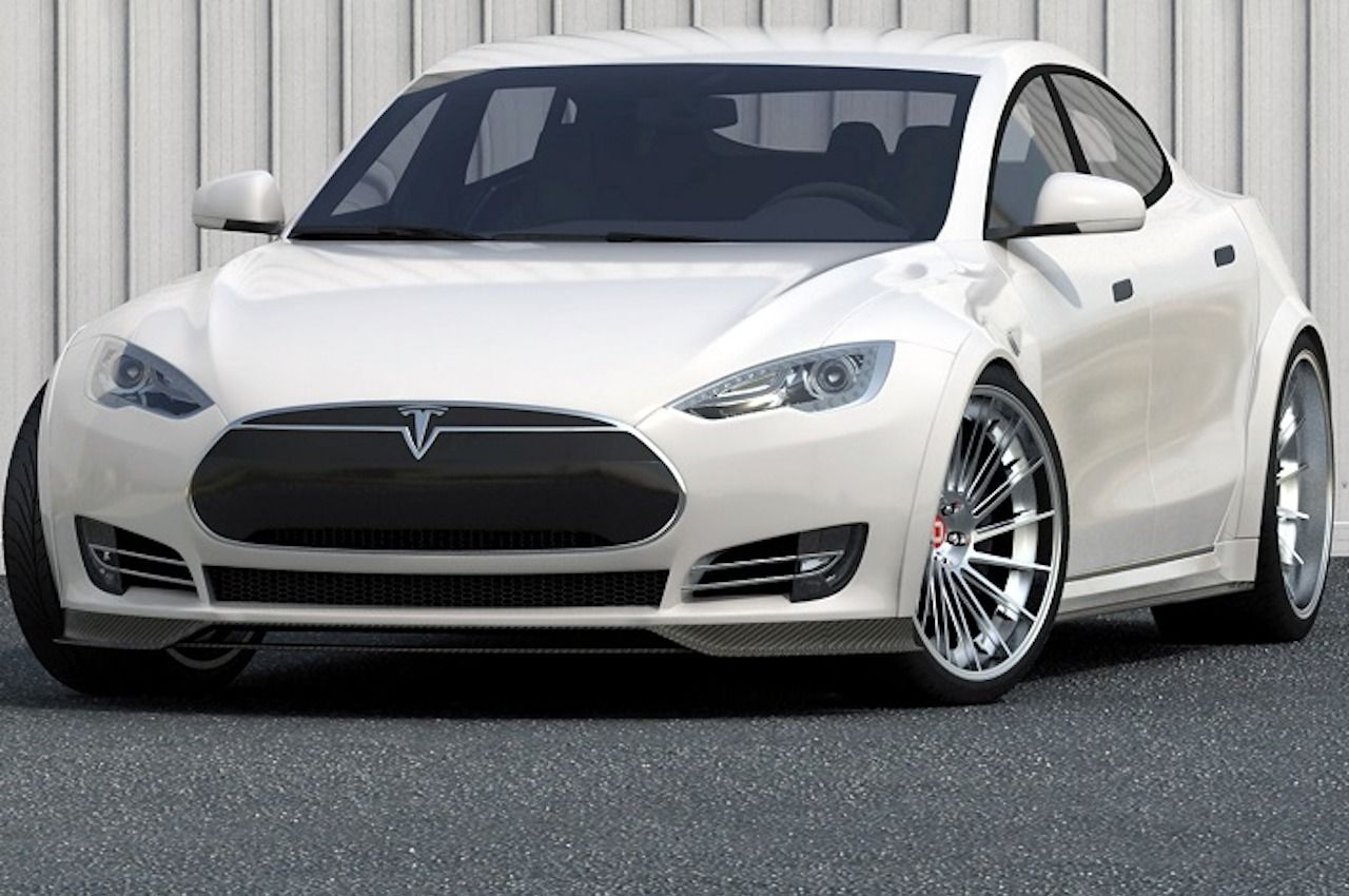 Tesla Model S Matte Black Accents Rolotech Tesla Pinterest