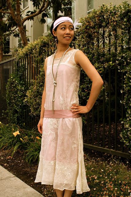 20er Kleid selber nähen | Chic in 2018 | Pinterest | Kleider, 20er ...