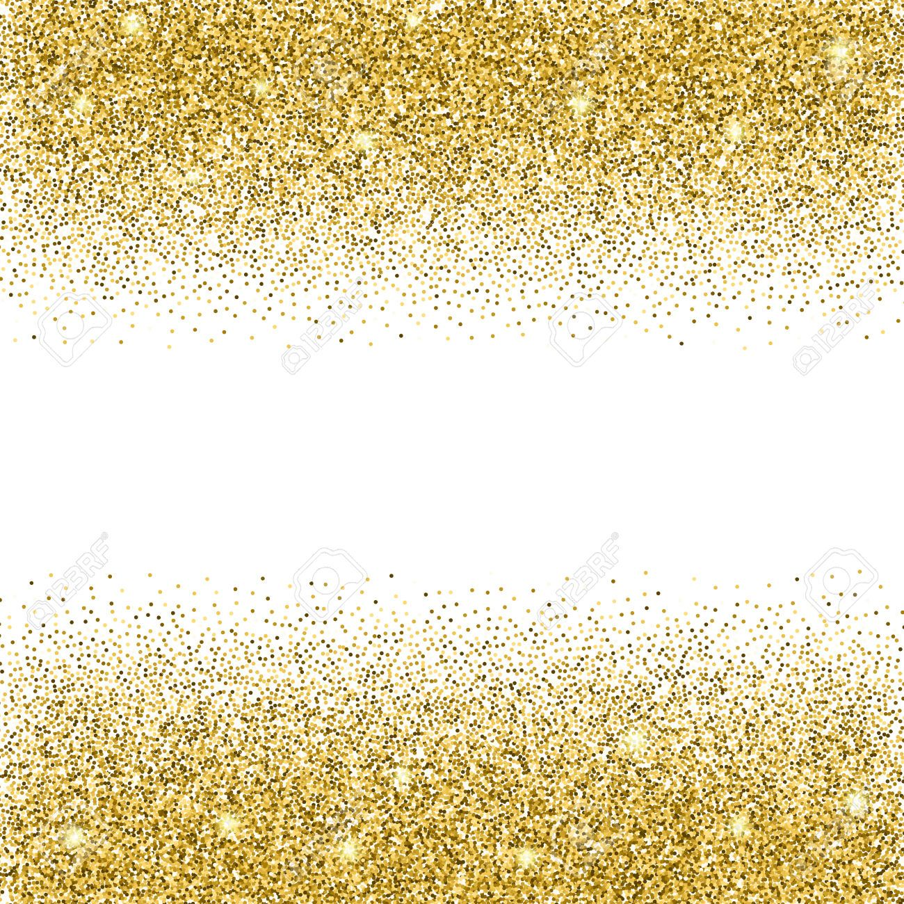 Glitter Gold: 50537981-Gold-glitter-background-Gold-sparkles-on-white
