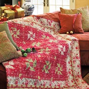 Cadeaux de Noel: French Country Christmas Quilt Pattern I've had ... : french quilts - Adamdwight.com