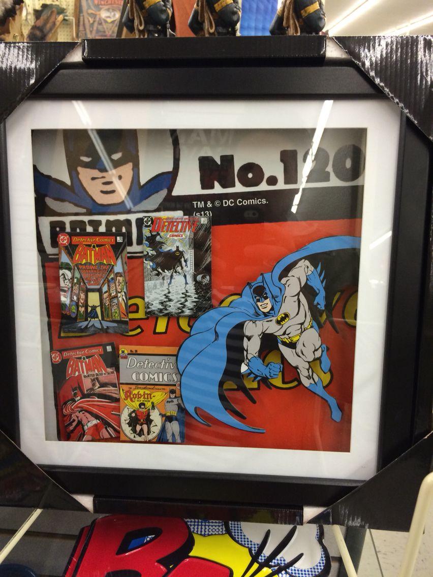 Batman shadowbox at hobby lobby shadow box batman