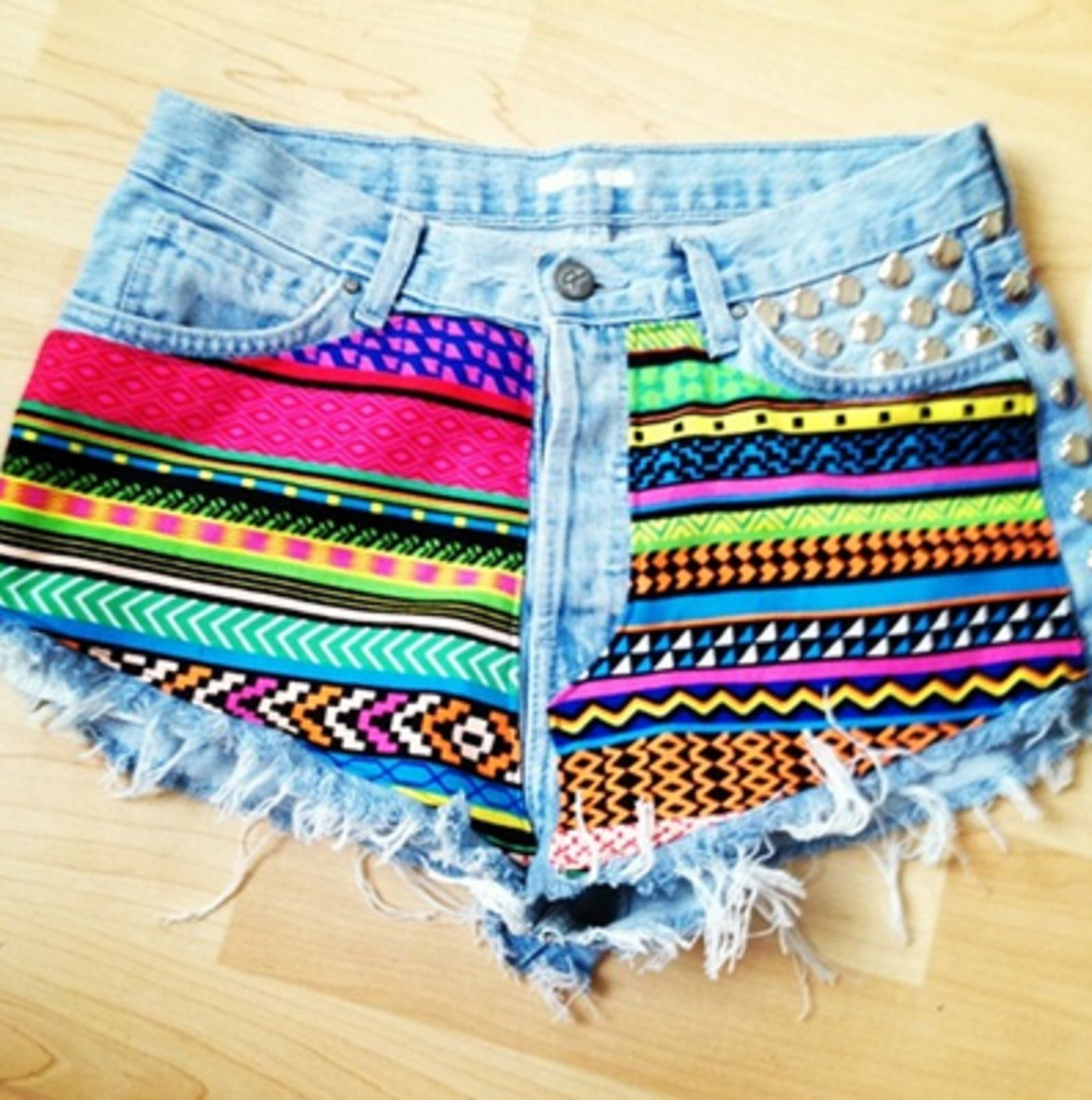 Cute Cut Off Diy Shorts Girly Pretty Shorts Diy Diy