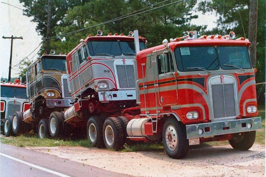 Pin by Jeff on Old School Trucking Big trucks, Big rig