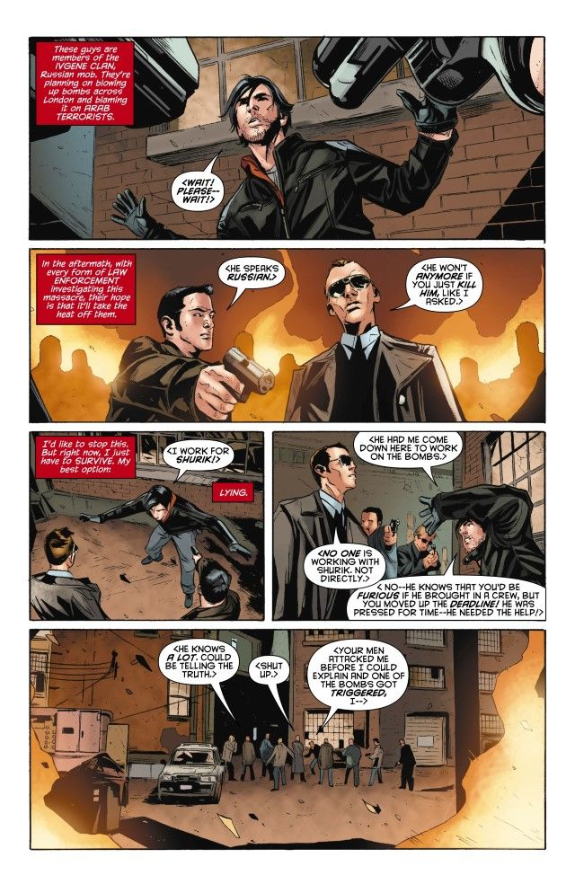 Jason Todd in Red Hood: The Lost Days jason lying in Russian