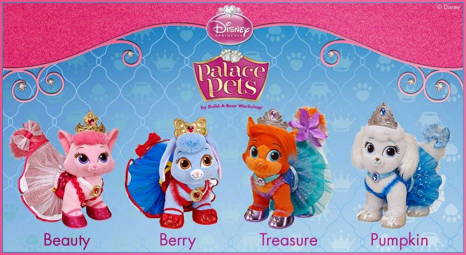 3 Princes And A Princess 2 New Palace Pets Have Arrived At Build