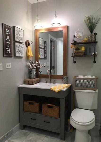 33 trendy bathroom rustic decor diy vanities in 2020 ...