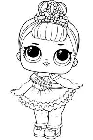 Раскраски кукол ЛОЛ распечатать или скачать (With images)