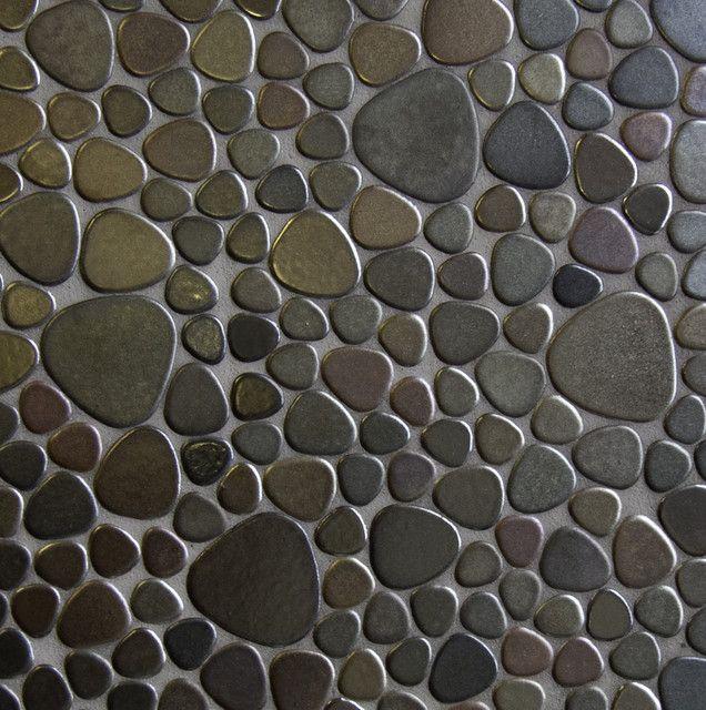 Pebble tile shower floor and floor tile pinterest pebble tile pebble tile shower floor and ppazfo