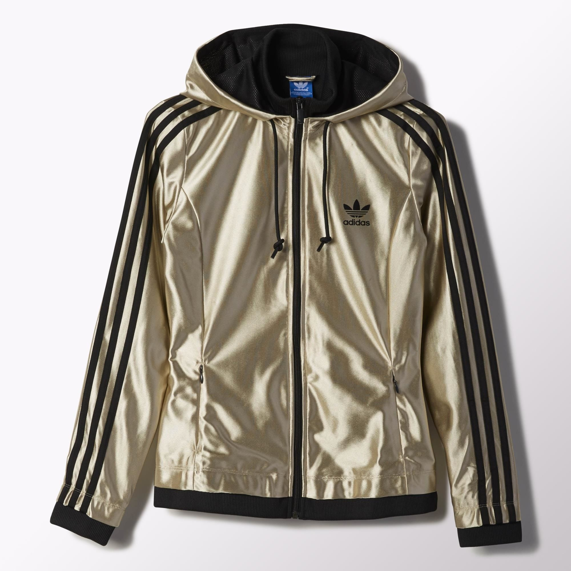 Women's Star Zip Hoodie | Adidas star, Adidas track jacket ...