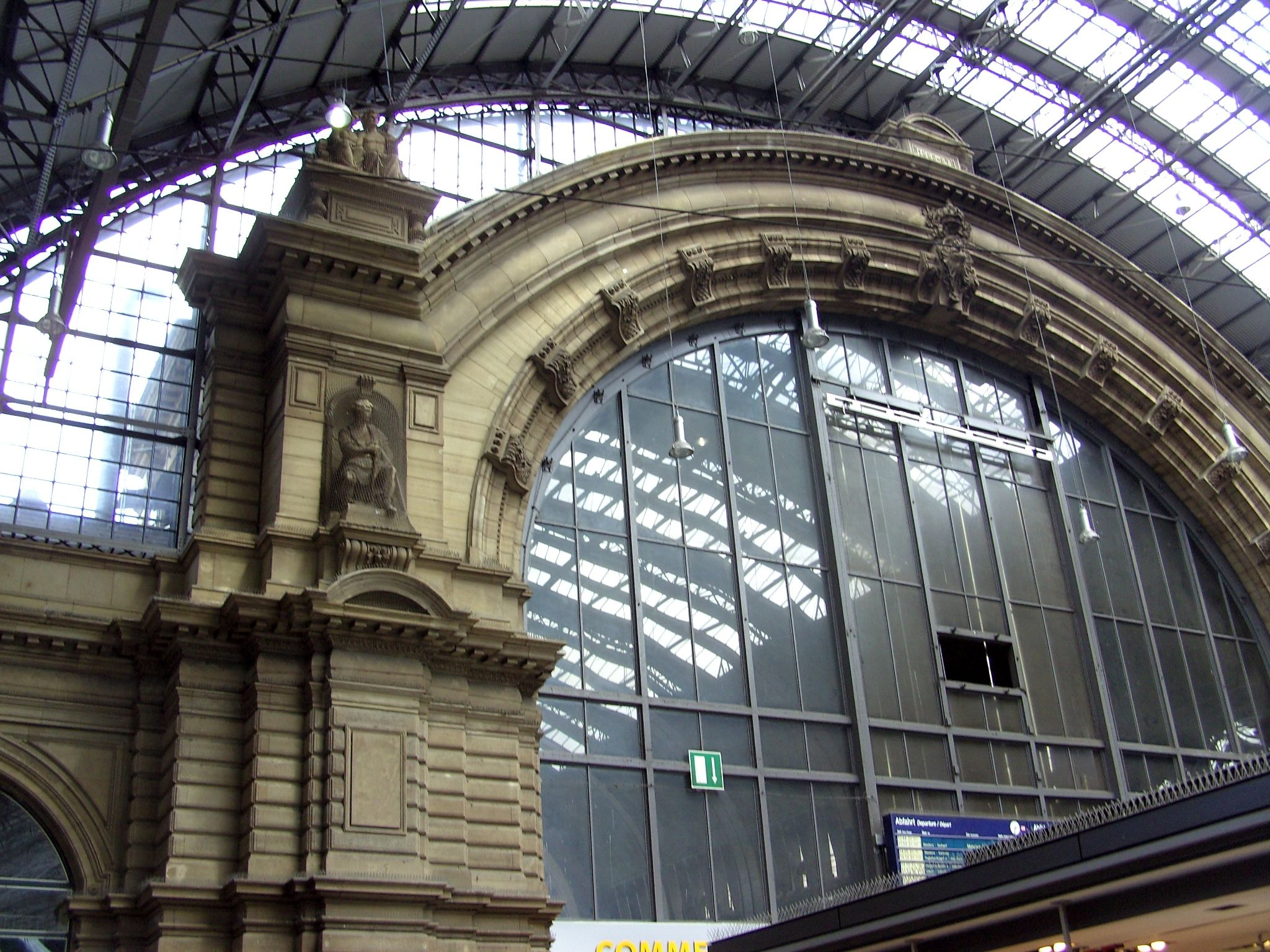 frankfurt train station interior out of country. Black Bedroom Furniture Sets. Home Design Ideas