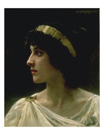 Irene, 1897 Lámina giclée por William Adolphe Bouguereau en AllPosters.es