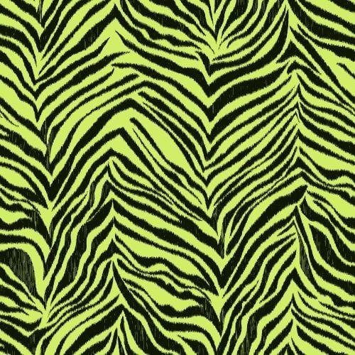 York Wallcoverings KS2297 Cool Kids Ikat Zebra Wallpaper, Green pistachio