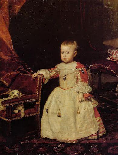 Velazquez, Prince Felipe Prospero 1659.