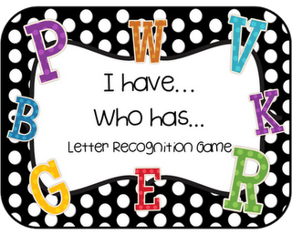 I have Who has... great one to teach how to play the game! Freebie