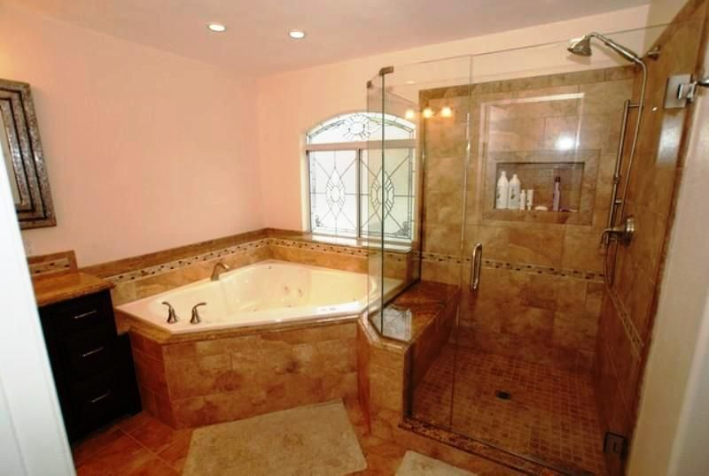 Corner Bathtub Shower Combo Small Bathroom Ideas Bathtub Install Corner Tub Shower Surround Corner Bathtub Shower Corner Tub Shower Corner Bath Shower