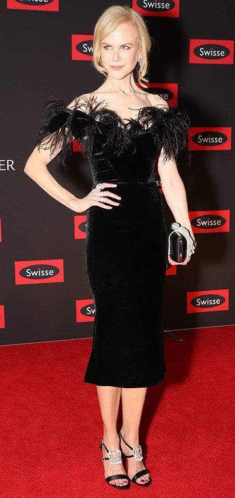 "Nicole Kidman in Marchesa attends the Swisse Wellness ""Power Your Passion"" event in Australia. #bestdressed"