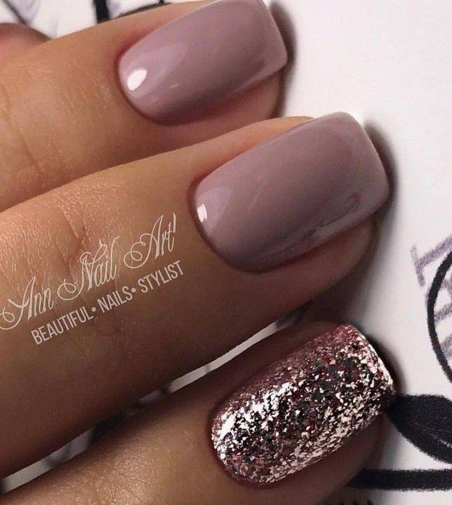 15 Classy Nails Acrylic Short 61 - Decorinspira.com