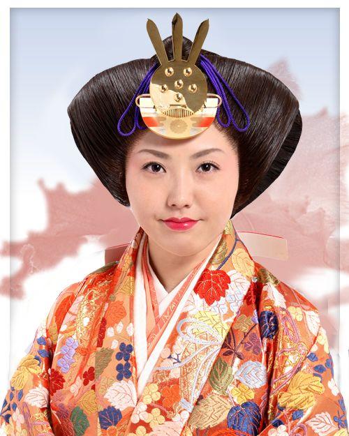 Osuberakashi | Japanese Traditional Hairstyles | Pinterest ...