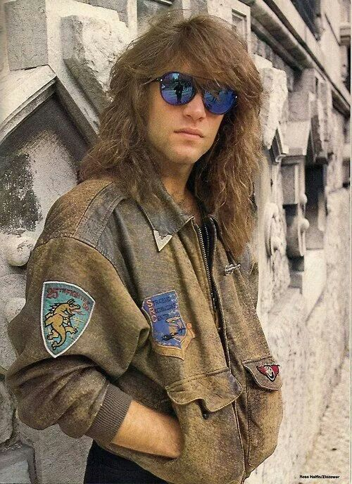 Jon rocking the bomber jacket