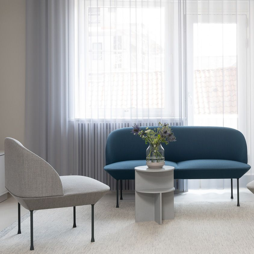 Home Decor Design Inspiration From Muuto The Oslo Sofa Family Unites Geometric Lines With A Light Form For The Refine Home Decor Living Room Inspiration Decor