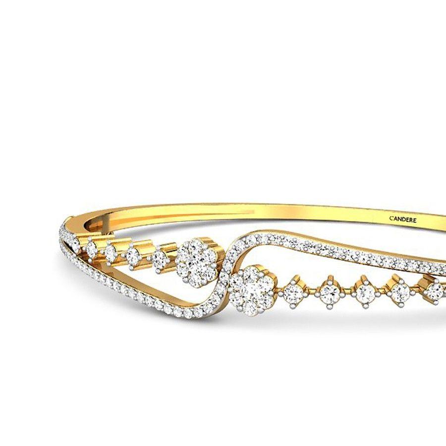 Namita diamond bangle accessories bracelets pinterest