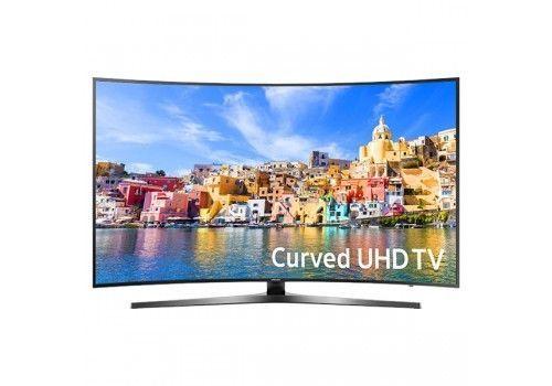 Samsung 49 Black Curved Panel LED UHD 4K 2160p Smart HDTV  UN49KU7500FXZA