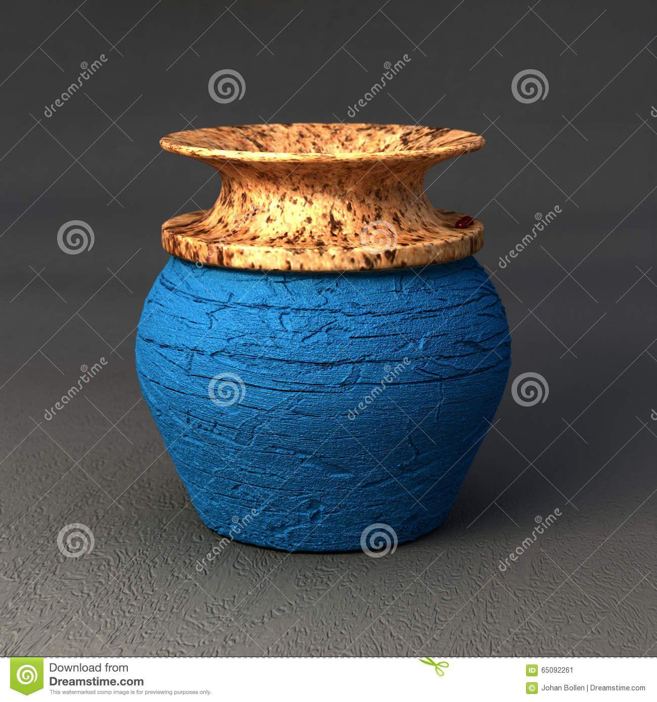 Digitale Keramiek - Kleine Blauwe Vaas by Johan Bollen- Downloaden van meer dan 45 Miljoen hoge kwaliteit stock foto's, Beelden, Vectoren. Schrijf vandaag GRATIS in. Afbeelding: 65092261