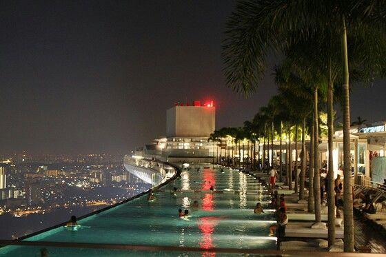 infinity pool singapore edge. Rooftop Infinity Edge Pool In Singapore