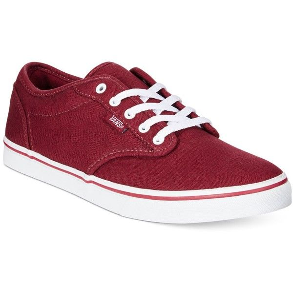 vans atwood low bordeaux