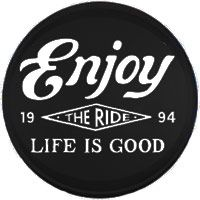 Life Is Good Tire Cover Enjoy The Ride Tire Cover Jeep Tire