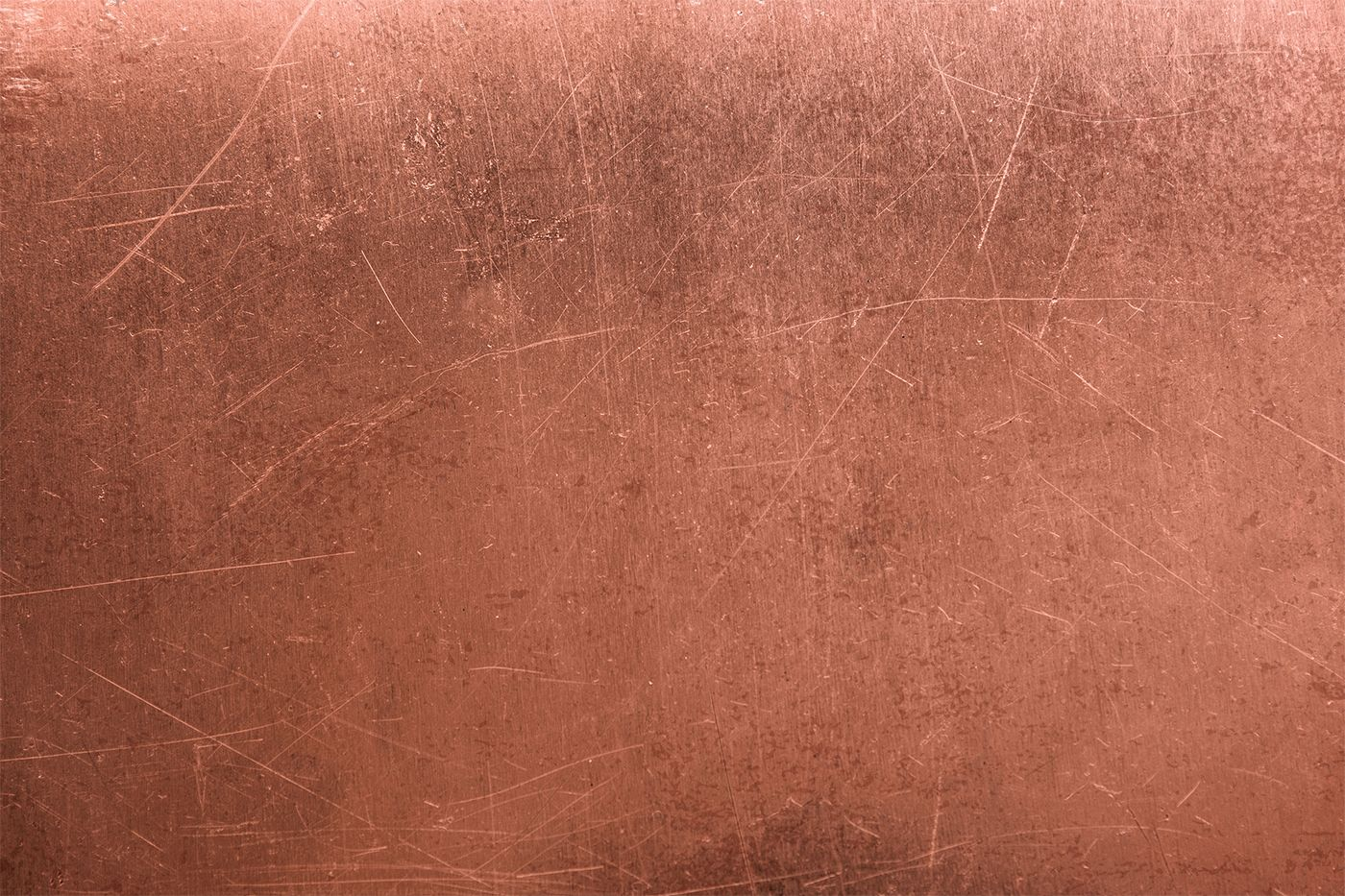 Copper Effect Wallpaper Distressed Style