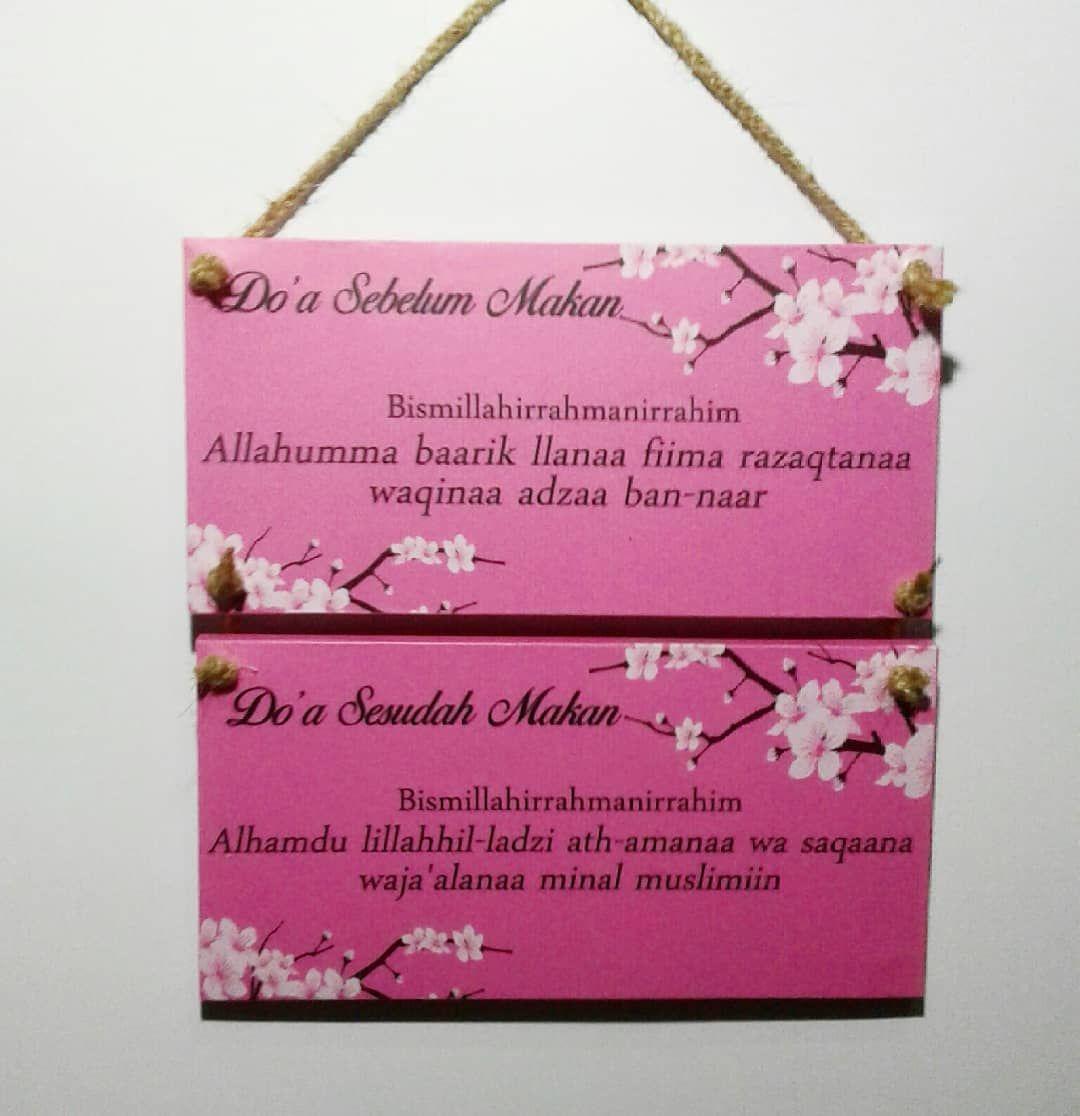 Hiasan Dinding Shabby Ukuran Satuan 10x20cm Bahan Plywood 9mm 1 Set Isi 2 1set Sticker Laminasi