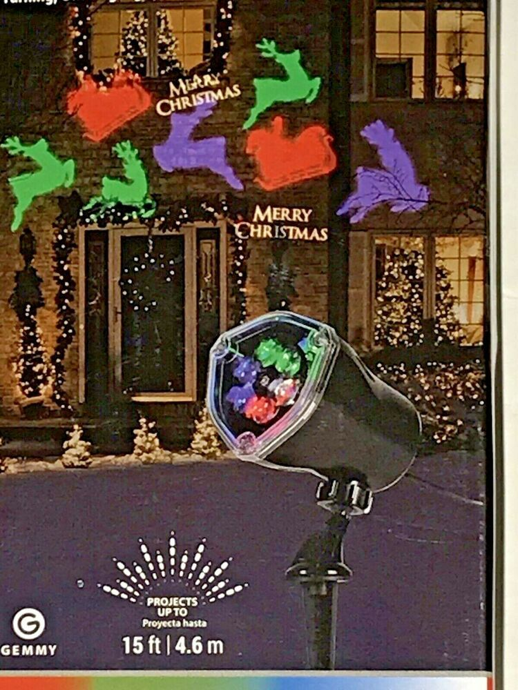 Led Light Show Projection Whirl A Motion Christmas