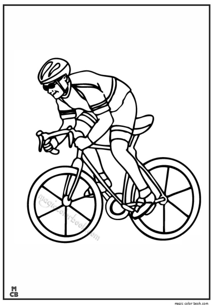 Pin by Magic Color Book on Sport Coloring pages free online ...