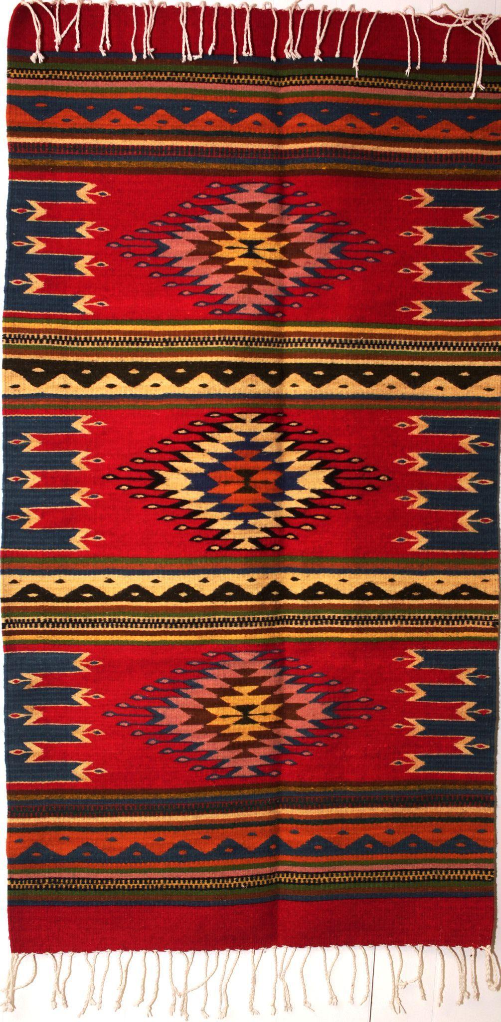 Zapotec Rug 30 Quot X 60 Quot Zr40 Mexican Rug Bohemian Rug