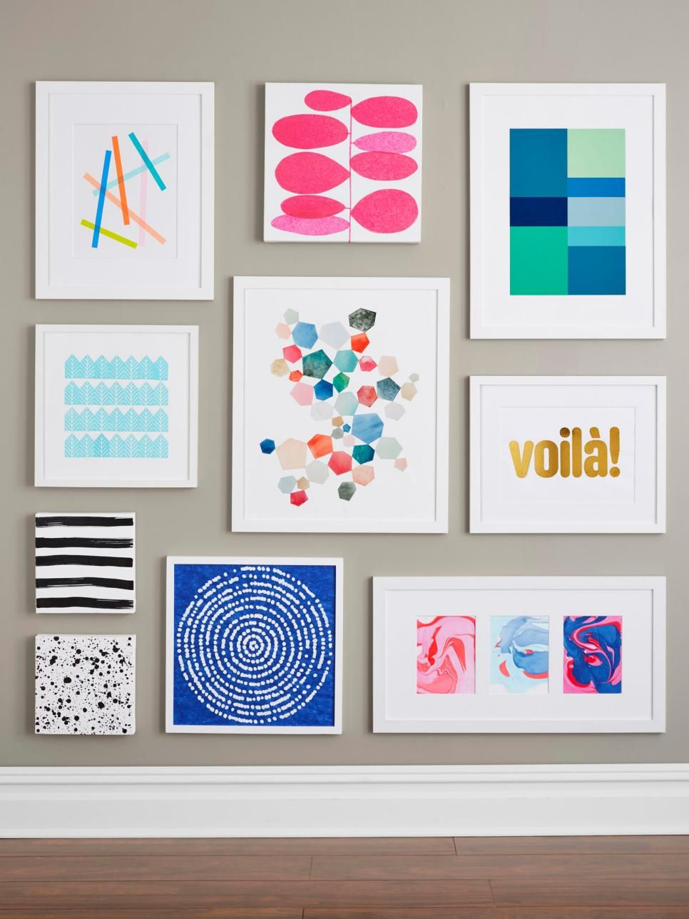 Impressive Diy Stencil Ideas From Popular Home Decor Magazines Diy Wall Painting Wall Art Diy Easy Unique Wall Art Diy