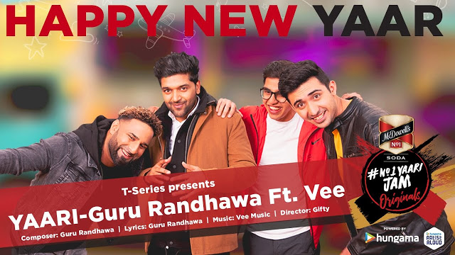 Yaari Song Lyrics !! Happy New Year !! Guru Randhawa By