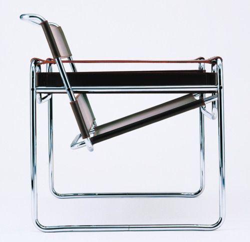 Le Corbusier Sessel LC1 mit schwenkbarer Rückenlehne