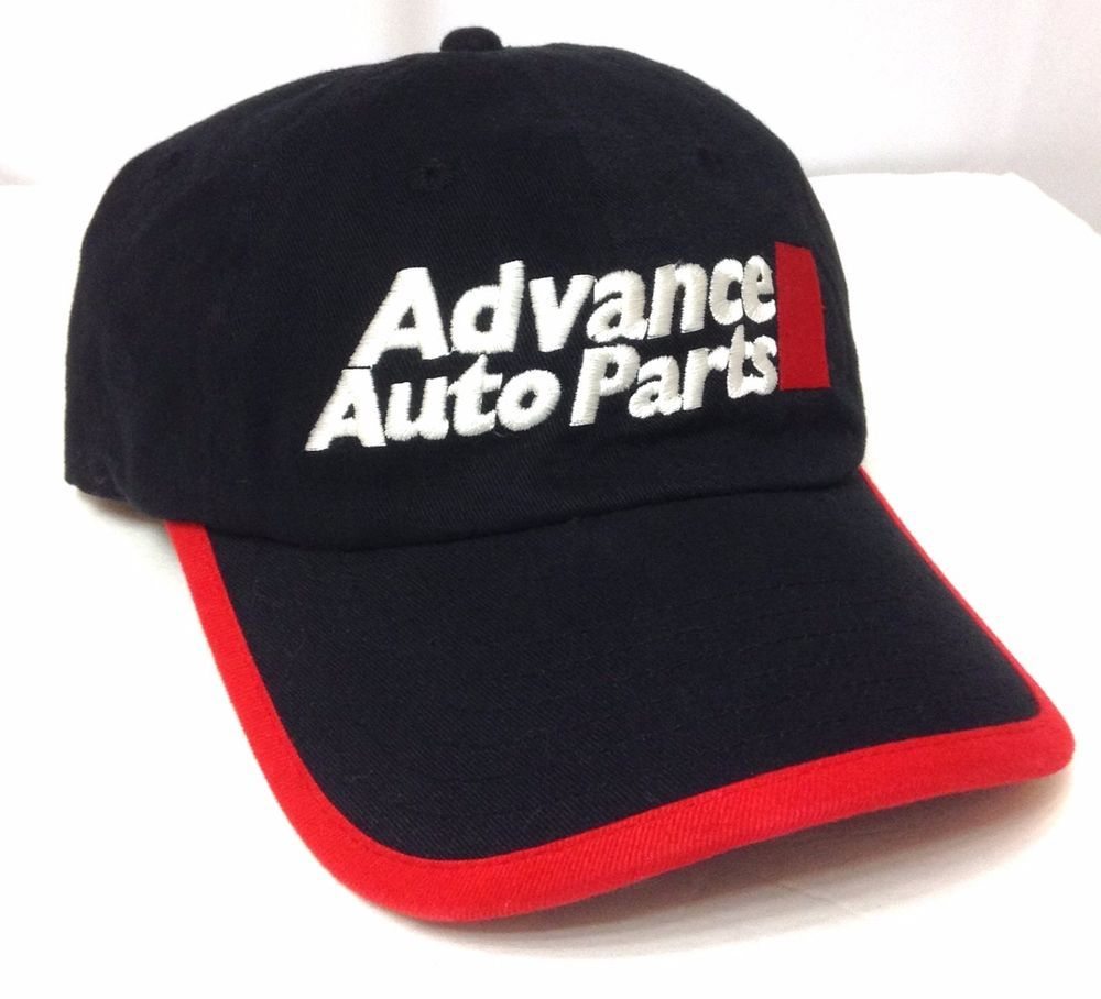 f7ebe77fb6c ADVANCE AUTO PARTS HAT Black red white Relaxed-Fit Cotton Men Women Car  Truck  AdvanceAutoParts  BaseballCap