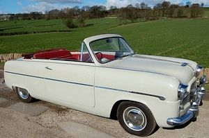 Mk1 Ford Zephyr Convertible Mine Had An Electric Roof Overdrive