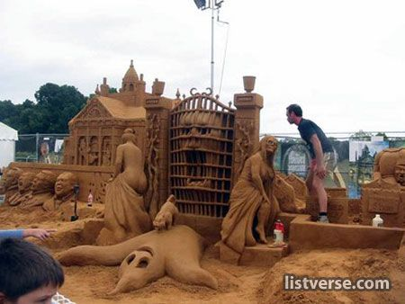 top 20 amazing sand castles - Gallery